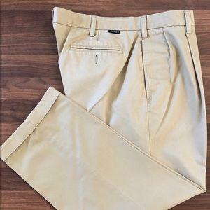 Men's Nautica cuffed rigger khakis size 38X30
